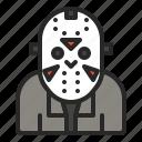 character, friday, halloween, horror, jason icon