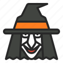 halloween, magic, magician, witch, wizzard icon