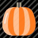 autumn, fall, greens, halloween, pumpkin, vegetable icon