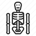 bone, dead, death, halloween, skeleton, xrays icon