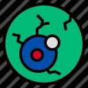 eye, eyeball, halloween, horror, scary icon