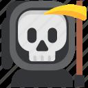 avatar, costume, death, fear, halloween, masquerade, skull