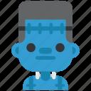 avatar, costume, halloween, man, masquerade, zombie