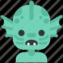 avatar, costume, halloween, masquerade, merman, monster, nix