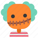 avatar, costume, guy, halloween, masquerade, scarecrow, scary icon