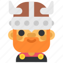 avatar, costume, halloween, man, masquerade, viking icon