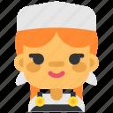 avatar, costume, dairymaid, halloween, masquerade, milkmaid, woman icon