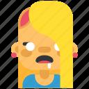 avatar, costume, girl, halloween, masquerade, woman, zombie icon