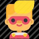 avatar, boy, costume, halloween, man, masquerade, superhero icon