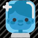 alien, avatar, cosmonaut, costume, halloween, man, masquerade icon