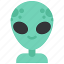 alien, avatar, costume, halloween, humanoid, masquerade, ufo icon