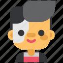 avatar, costume, face, halloween, man, masquerade, robocop icon