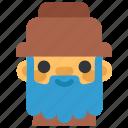 avatar, bluebeard, costume, halloween, man, masquerade, scary icon