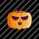 halloween, horror, monster, pumpkin, scary icon