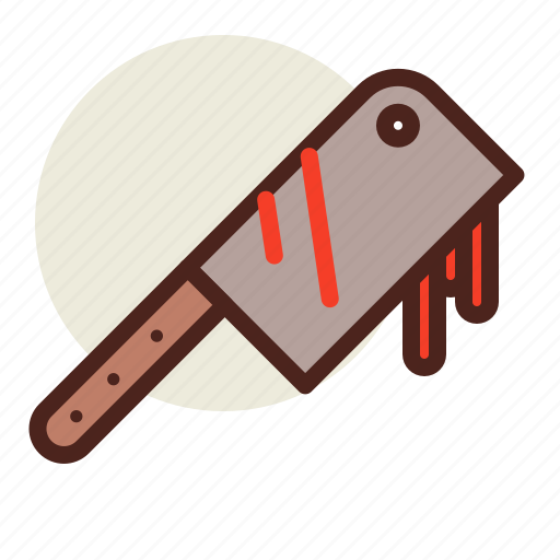 chopping, holiday, horror, knife icon