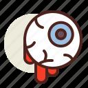 eye, holiday, horror icon