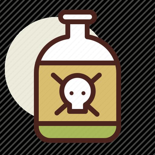 holiday, horror, kill, poison icon