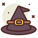 hat, holiday, horror, witch icon