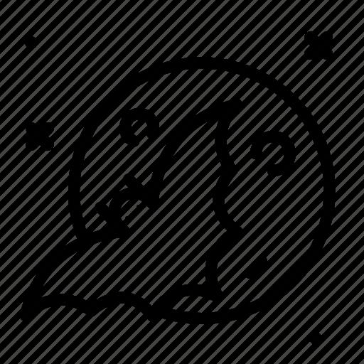 bat, holiday, horror, moon icon