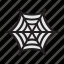 halloween, spider, web, internet