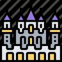 abandoned, castle, mansion, rich, palace
