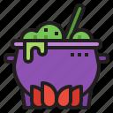liquid, halloween, danger, pot, poison