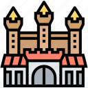 castle, palace, mystery, haunted, spooky