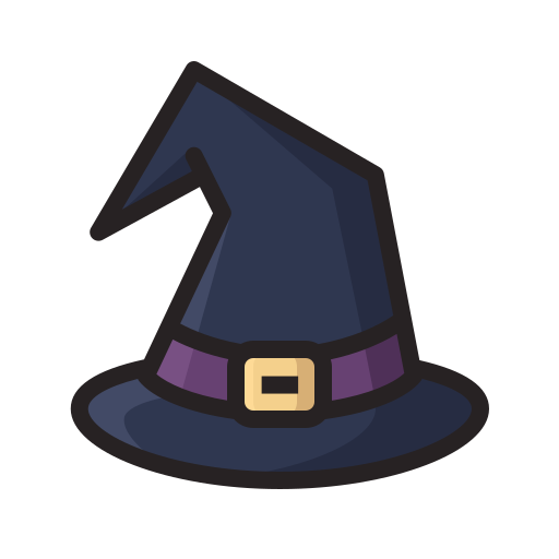halloween, hat, horror, magic, scary, witch icon