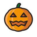 halloween, jack o'lantern, pumpkin, horror, monster, scary icon