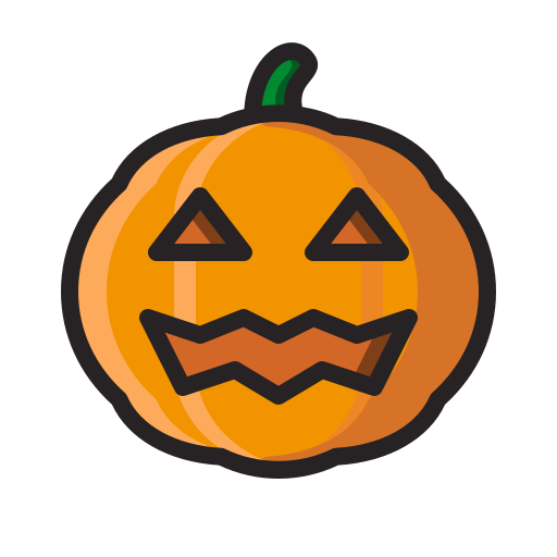 halloween, horror, jack o'lantern, monster, pumpkin, scary icon