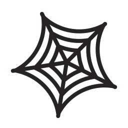 halloween, horror, scary, spider, web icon