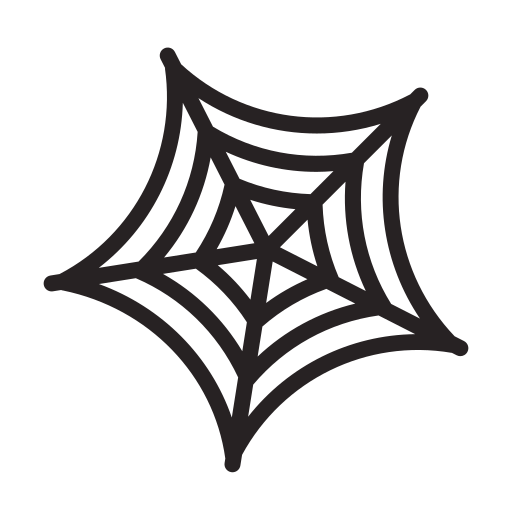 Halloween, spider, web, horror, scary icon - Free download