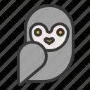 animal, bird, halloween, owl, pet, scary icon