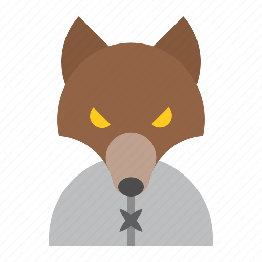 halloween, horror, monster, scary, spooky, werewolf icon