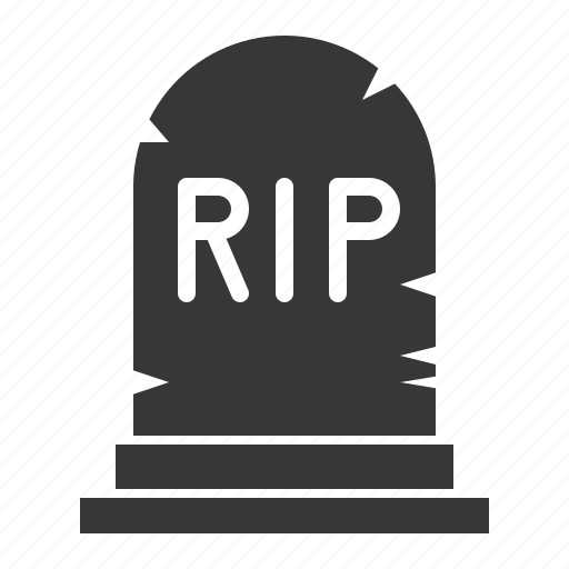 cemetery, death, halloween, horror, scary, spooky, tomb icon