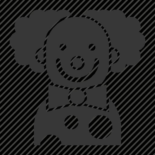 avatar, carnival, circus, clown, halloween icon