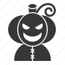 halloween, horror, jack o' lantern, monster, pumpkin, scary, spooky icon