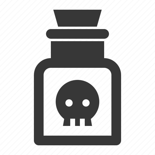 bottle, halloween, poison, toxic, witchcraft icon