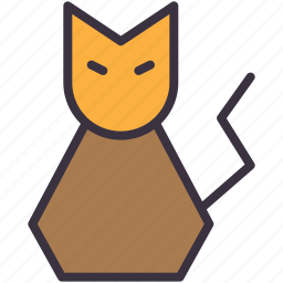 black cat, cat, evil, halloween, kitty icon