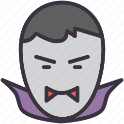 blood, dracula, fangs, monster, suck, tooth, vampire icon