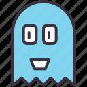 casper, friendly, ghost, halloween, haunt, pacman, spirit icon
