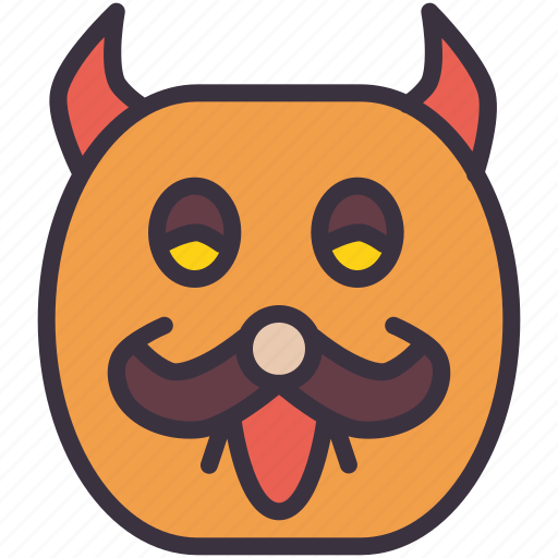 halloween, mask, monster, scary, spooky icon