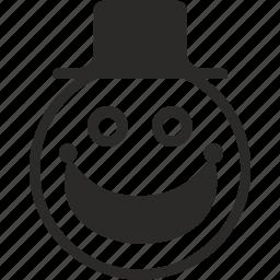 avatar, clown, face, hat, joke, joker, smile icon