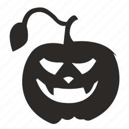 character, halloween, horror, pumpkin icon