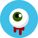 eye, ghost, halloween, horror, spooky icon