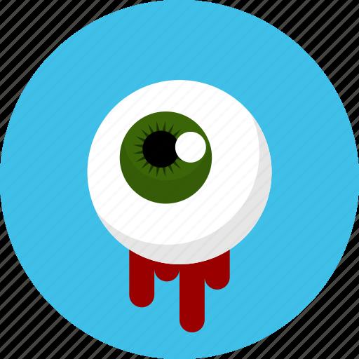 eye, ghost, halloween, horror, spooky icon