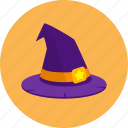 hat, magic, party, spooky, witch icon