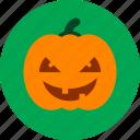 spooky, halloween, jack, party, lantern, pumpkin icon