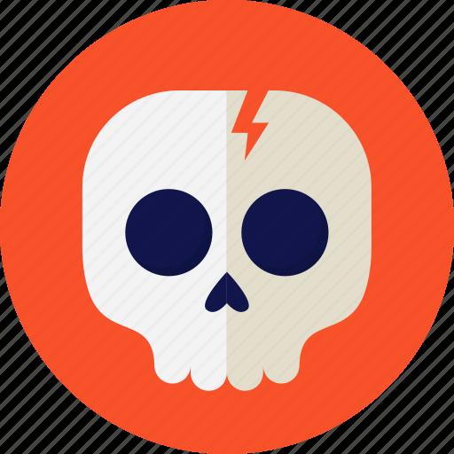 halloween, horror, party, skull, skullcap icon