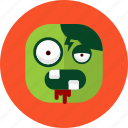 blood, halloween, kill, scare, zoombie icon